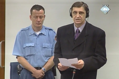Dragan Nikolic - Jenki in the courtroom