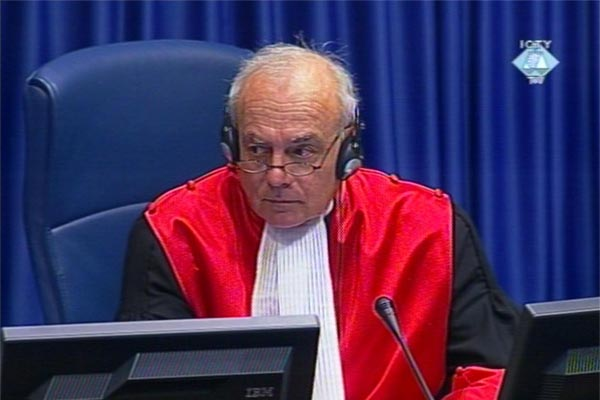 Jean-Claude Antonetti, presiding judge in the Seselj trial