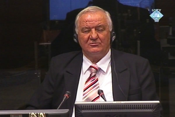 Jovan Glamocanin, witness in the Vojislav Seselj trial