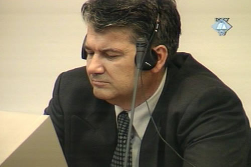 Mario Cerkez in the courtroom