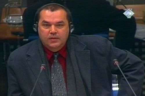 Patrick Barriot, defense witness for Milosevic